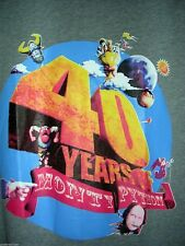 Monty Python 40 Years NWOT Adult Size S Small Grey T-Shirt