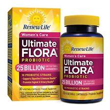 Renew Life - Ultimate Flora Probiotic Women's Care - 25 billion - probiotics