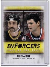JAY MILLER VS CHRIS NILAN 10/11 ITG Enforcers Tale of the Tape #39 SP