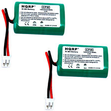 2-Pack HQRP Battery for SportDOG SDT00-11907 MH120AAAL4GC DC-17 Collar Receiver