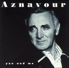 Charles Aznavour You and Me CD 17 trx 1995 sung in English Toi et Moi chanson