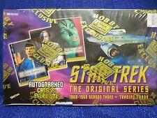 FLEER STAR TREK SKYBOX ORGINAL SERIES SEASON 3 (THREE) TRADING CARD BOX HOBBY