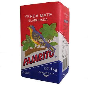 1 kg YERBA MATE PAJARITO ELABORADA TEA Strong Energy Boost Weight Loss Loose Tea