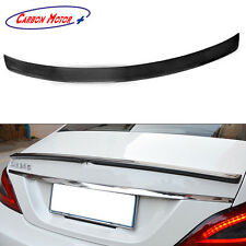Carbon Fiber Boot Spoiler for Mercedes Benz W218 CLS CLS350 CLS500 CLS550 2011 +