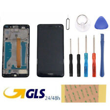 Touch Screen Display LCD FRAME Huawei NOVA YOUNG 2017 MYA-L11 NERO Ricambio +KIT