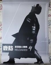 Lu Han Reloaded 2015 Taiwan Promo Poster (EXO-M EXO LUHAN)