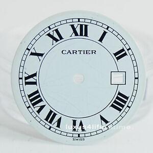 Cartier Santos Ronde Automatik GM/LM mit Datum Zifferblatt gebraucht