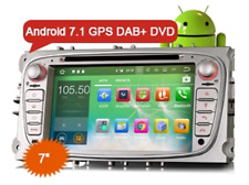 "ES3709F 7"" Car Radio Android 7.1 GPS DAB+ DVR Ford Mondeo Focus S/C-Max Galaxy"