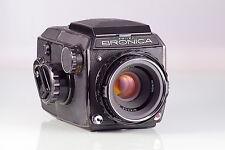 schöne Zenza Bronica ec Nikkor-p 2.8/75mm 75 6X6 WLF classic Ausgezeichnet