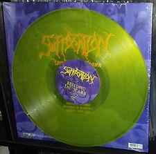 SUFFOCATION - Breeding the Spawn LP (limited to 200 piss YELLOW  vinyl) NEW