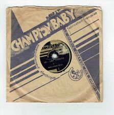 78T 15 cm RONDES ENFANTINE Pygmo Disque LES SABOTS - CHAMPION BABY 1 RARE