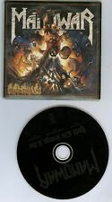 Manowar Hell On Stage Live promo CD single