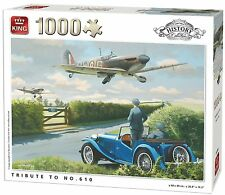 1000 piezas History Colección Puzle Rompecabezas - Tribute To no.610 Squadron