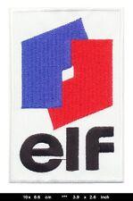 ELF Aufnäher Aufbügler Patch Auto Racing Team Frankreich France EL1 TURBOVERSAND