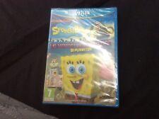 Wii U SPONGEBOB la vendetta robotica di Plankton PAL nuovo sigillato gioco
