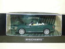 Minichamps Bentley Continental GTC dark green REF:436 139060