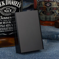 New Aluminum Alloy Metal Cigarette Case For 20 Cigarettes Black