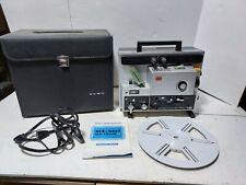 ELMO SOUND ST-1200D MAGNETIC SUPER 8 PROJECTOR FILM REEL MANUAL