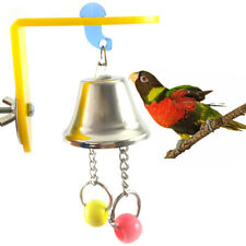 New listing Bird Parrot Toy Chew Toys Large Pet Bells Cage Bell Swing Hanging Bell Toys Hv