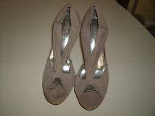 Rouge Helium ladies light brown dress heels size 8 1/2