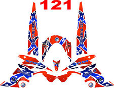 Yamaha Nytro Snowmobile Wrap Decal Stickers 05-15 General Lee V2