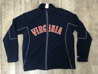 Virginia Cavaliers University Rawlings Zip Windbreaker Jacket - Size XL Vintage