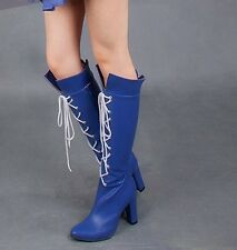 Customized Sailor Moon Sailor Saturn Cosplay Shoes Boots Cos Accessories