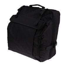Durable Thick Padded 120 Bass Piano Accordion Bag Case w/ Accessory Pockets
