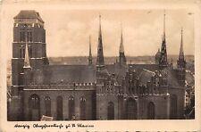 AK Danzig Kirche zu St Marien Postkarte Echt Foto 1942