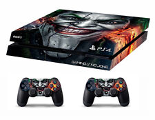 PS4 vinyl Skin Stickers joker style for Console & 2 controllers