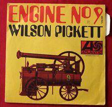 Wilson Pickett, engine N° 9 / international playboy, SP - 45 tours France