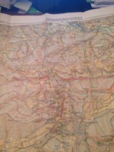 semmeringgebiet freytag berndt umgebungskarte 1948