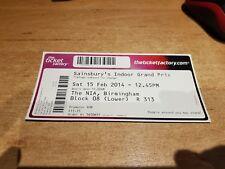 Sainsburys Athletics indoor grand prix 15.02.2014 Ticket