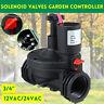 """3/4"""" Thread 12/24V AC Solenoid Valves Garden Controller Industrial Irrigation"""