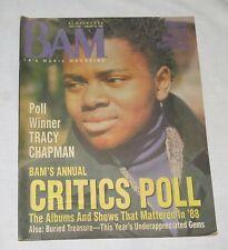BAM LA's Music Magazine 29 Jan 1989 300 Critic's Poll Tracy Chapman
