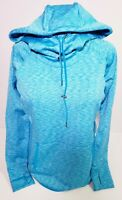 Athleta Women's Blue Cowl Neck Hooded Athletic Running Sweater! Size M