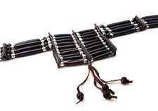 Handmade Native American Style Buffalo Bone Hairpipe Choker Necklace