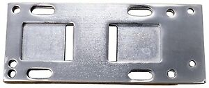 Chrome Transmission Mount Plate OE Rep 47698-36A Harley Big Twin 4 Speed 36-86
