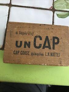 Ancienne boîte à Jetons pour cartes APÉRITIF UN CAP  CORSE QUINQUINA LN MATTEI