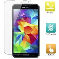 SAMSUNG GALAXY S5 ANTI FINGERPRINT ANTI-GLARE MATTE SCREEN PROTECTOR LCD COVER