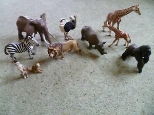 Schleich African Wildlife Bundle (10 Animals)