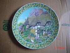 Piatto da collezionisti Royal Worcester Cottage Giardini-Worcester APRILE