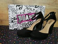 Brash 180250 Stassi Black Women's Heels Shoes Size 8.5 NWB