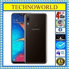 """UNLOCKED SAMSUNG GALAXY A20 A205YN+4GX 32GB WIFI HOTSPOT+6.4"""" HD sAMOLED+3G RAM"""