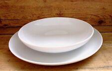 Tafelservice Speiseservice Tellerset 24tlg. für 12 Personen Porzellan weiß  TOM