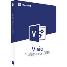 Microsoft Visio 2019 Pro Professional | Vollversion | Key | Endnutzer Version