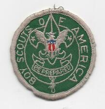 Scoutmaster (1967-69) (SM5) Patch,Cloth Gauze Backing, Used!