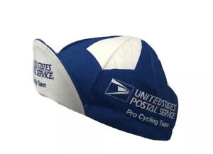 Vintage 1999 USPS Pro Cycling Team Cap Classic Hat New With Tags Blue white