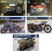 Italeri 1/9 Motor Bike New Plastic Model Kit 1 9