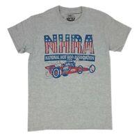NHRA National Hot Rod Association Red White & Blue Drag Racing Men's T Shirt